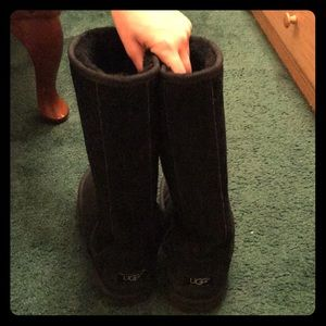 Quilted Tall Ugg Boots